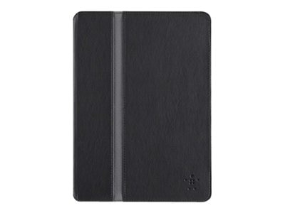 Belkin FormFit Cover for iPad Air, Blacktop, F7N101B1C00, 16977895, Carrying Cases - Tablets & eReaders