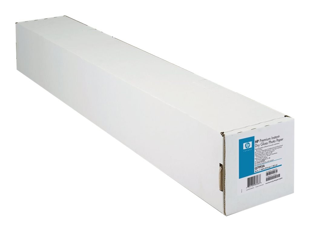HP 50 x 100' Premium Instant-dry Gloss Photo Paper, Q7997A, 6412508, Paper, Labels & Other Print Media