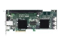 Areca Technology 12-port External 4-port SAS SATA 6Gb s 2 PC Card, ARC-1880IX-12, 13041611, Storage Controllers
