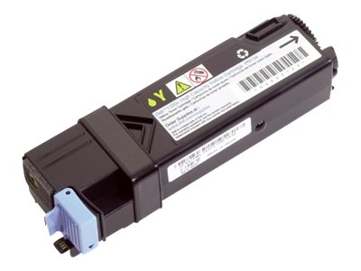 Dell Yellow Toner Cartridge for 2130CN & 2135CN Printers, FM066