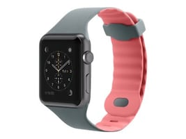 Belkin Sport Band for Apple Watch, 38mm, Pink, F8W729BTC01, 33418665, Wearable Technology