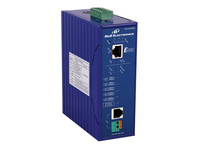 IMC Industrial DIN Rail Mounted Ethernet Extender, EIR-EXTEND, 15608019, Network Extenders