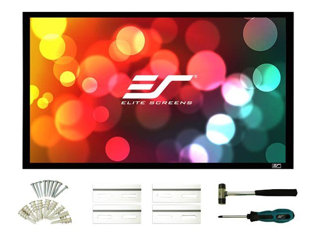 Elite Sable Frame 2 Series Projection Screen, CineWhite, 16:10, 109, ER109WX2, 20075819, Projector Screens
