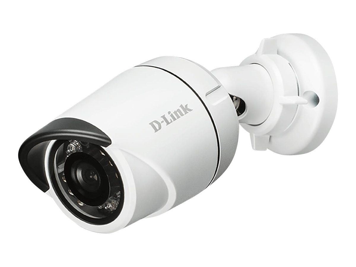 D-Link HD Outdoor Mini Bullet Camera, White, DCS-4701E