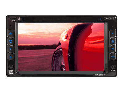 Namsung XDVD1262 Dual Double DIN In-Dash DVD MP3 USB Receiver, XDVD1262, 15203249, Portable Stereos