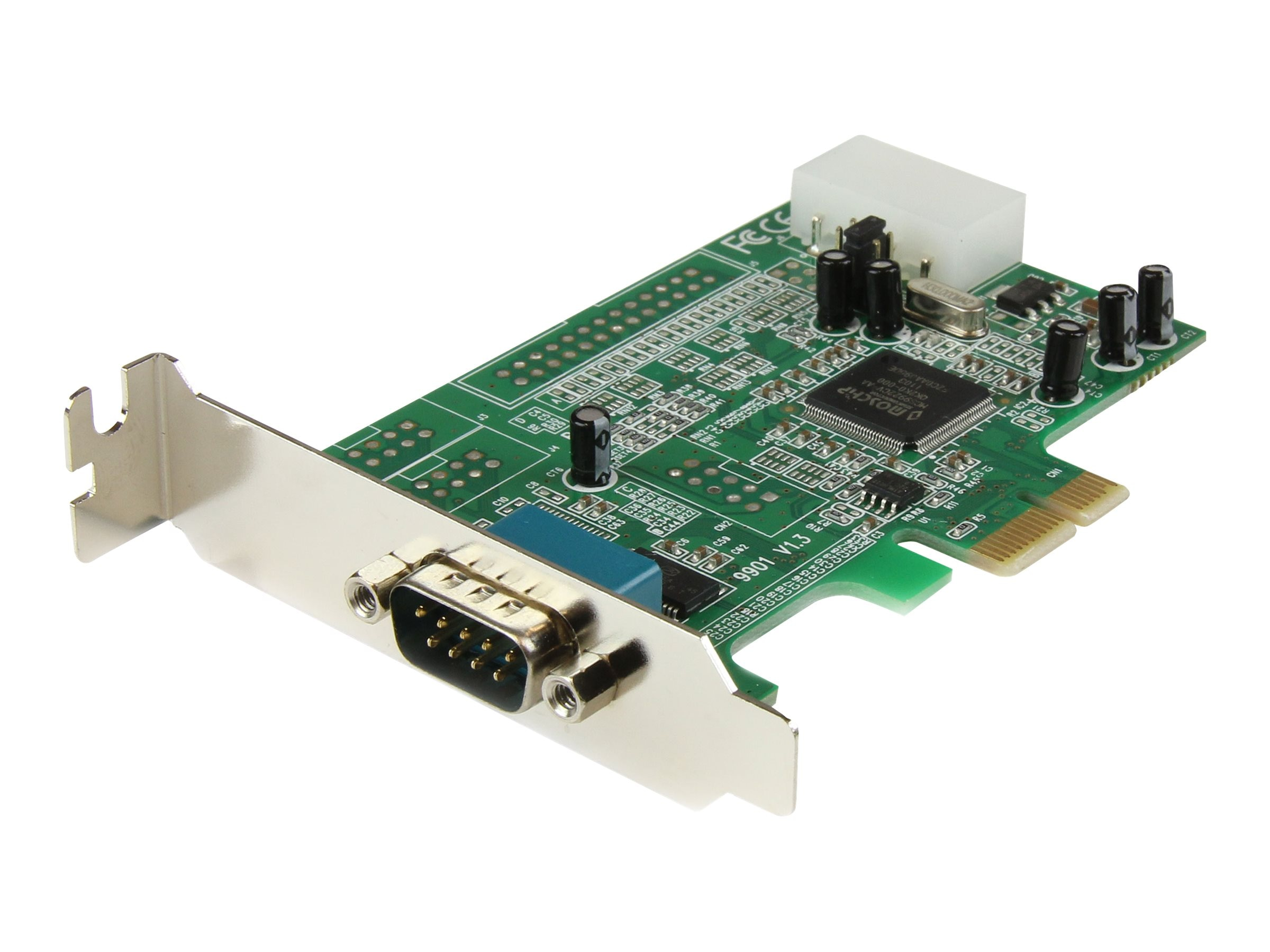 StarTech.com 1-port PCIe RS232 Serial Adapter Card, PEX1S553LP, 11955873, Controller Cards & I/O Boards