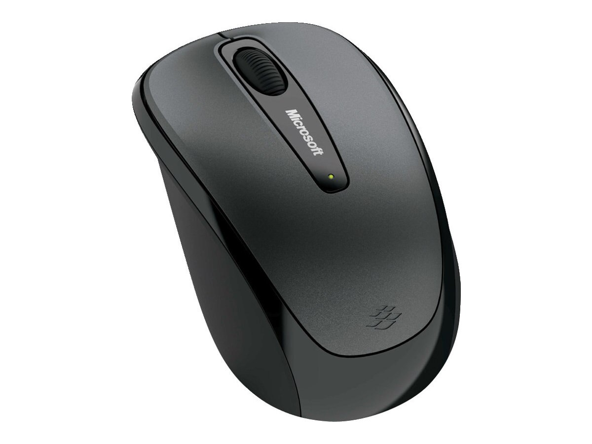 Microsoft Wireless Mobile Mouse 3500, Loch Ness Gray, GMF-00010, 10987013, Mice & Cursor Control Devices