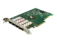 Solarflare Flareon Quad-Port 10Gbe PCIe 3 Server Adapter, SFN7004F, 23308008, Network Adapters & NICs