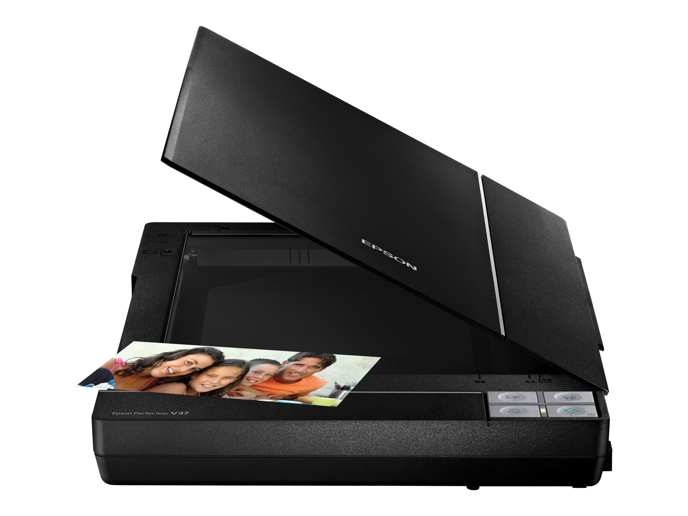 Refurb. Epson V37 Color Flatbed Scanner 8.5 x 11.7 4800dpi, B11B207201-N