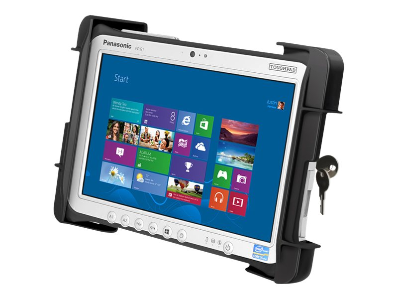 Ram Mounts Tab-Lock Universal Locking Cradle for the Panasonic Toughpad FZ-G1, RAM-HOL-TABL19U
