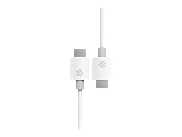Kanex HDMI Cable, White, 12ft, KHDCMM12FW