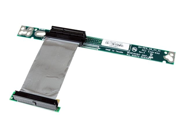 StarTech.com PCI Express x4 Left Slot Riser Adapter Card with 7cm Flexible Cable, PEX4RISERF