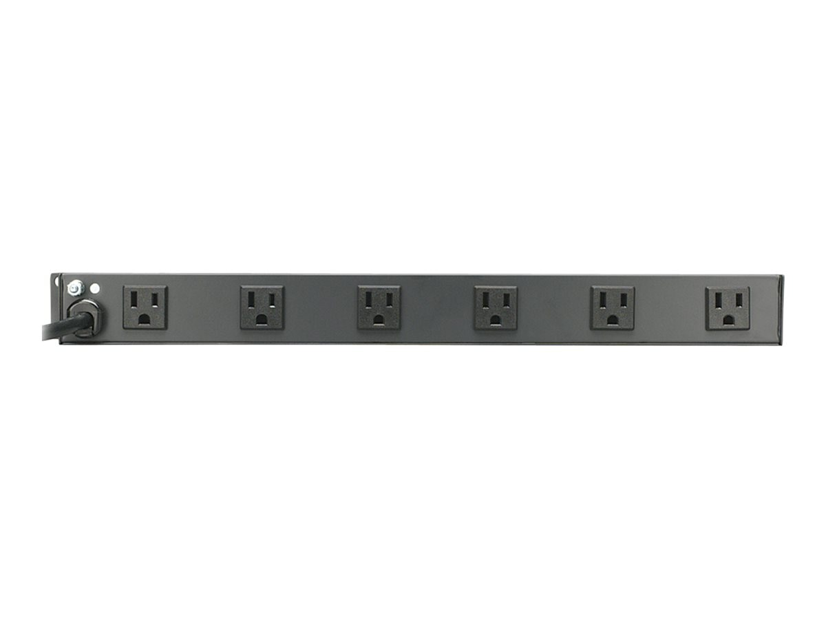 Tripp Lite Multiple Outlet Strip 15-Amp (12) Outlets Right-Angled, 15ft Cord, RS-1215-RA