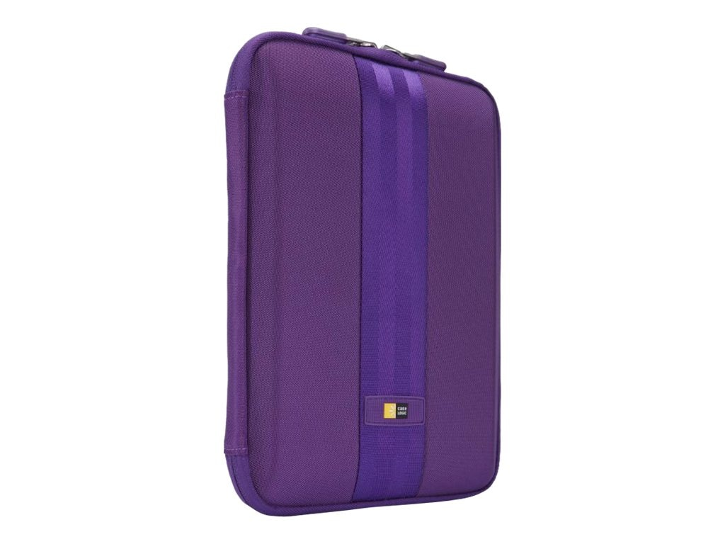 Case Logic Sleeve for iPad or 10.1 Tablet, QTS-210PURPLE, 15719763, Protective & Dust Covers