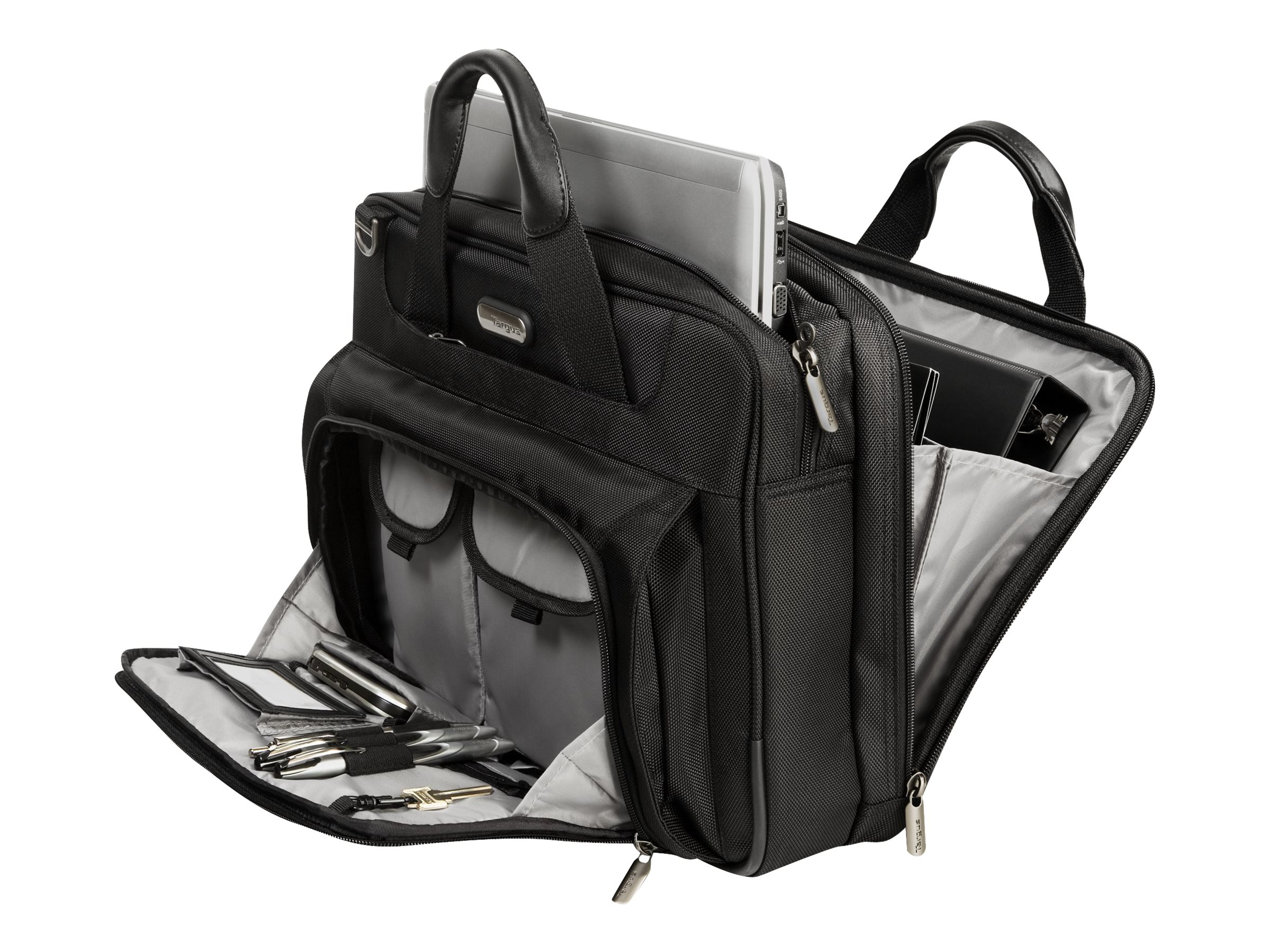 Targus Zip-Thru Traveler Case, with APS, CUCT02UA14S, 11305192, Carrying Cases - Notebook