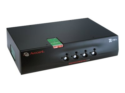 Avocent SwitchView SC 500 Series Secure 1 User x 4 System KVM Switch, SC540-001, 8830623, KVM Switches