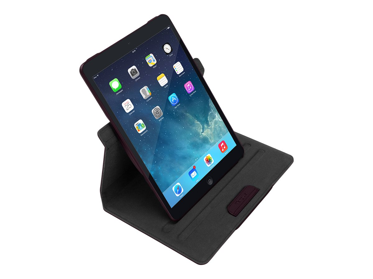 Targus Versavu for iPad Air 5th Generation 9.7, Black, THZ19602US, 16282591, Carrying Cases - Tablets & eReaders