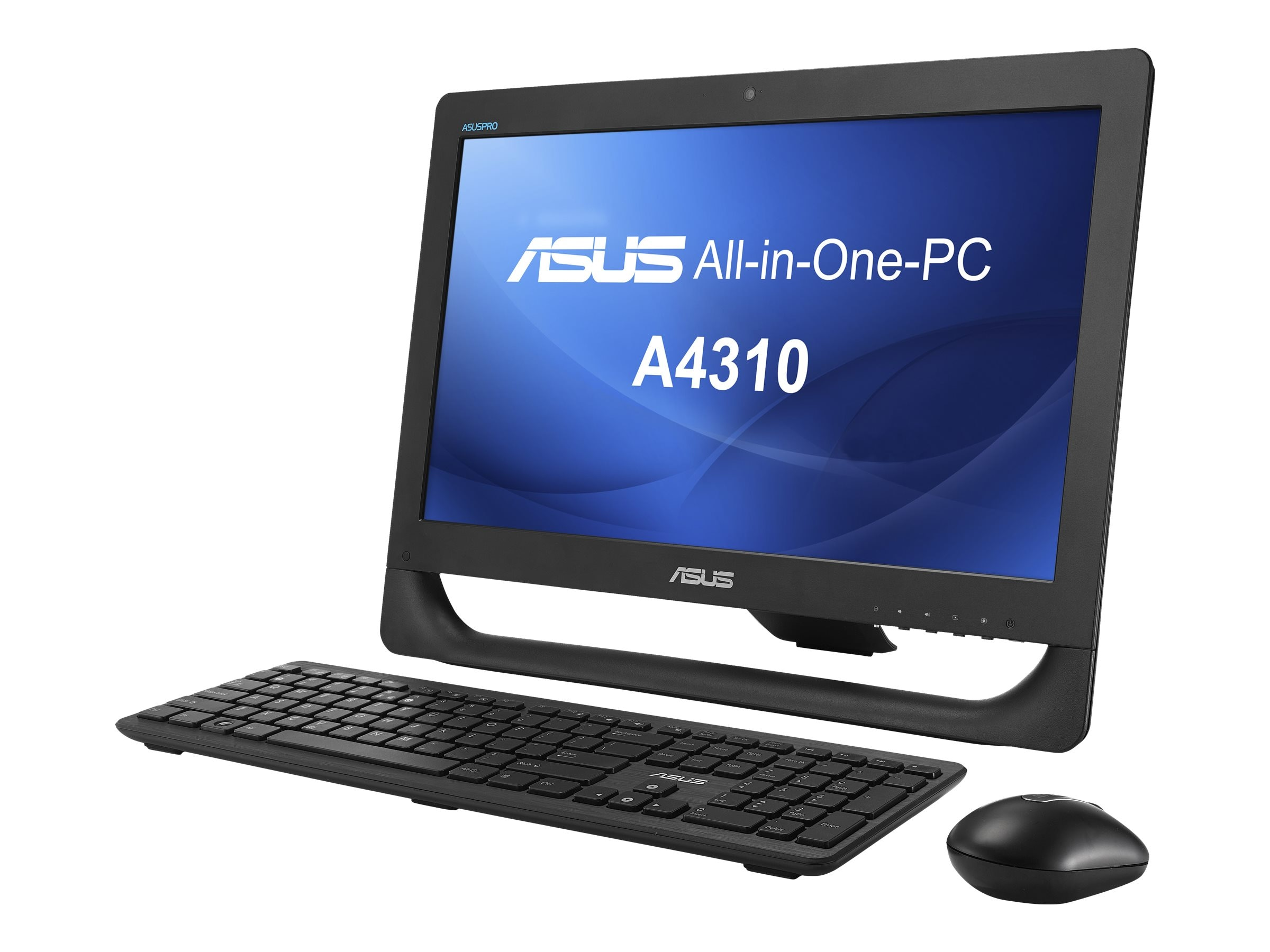 Asus A4310-B1 AIO Core i3-4150T 3.0GHz 4GB 500GB IntelHD DVD-RW n WC 20 HD W7P64, A4310-B1, 17950125, Desktops - All-in-One