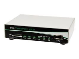 Digi LTE North America Multi-Carrier (700 850 1700(AWS) 1900 MHZ), 2 Ethernet, WR21-L52A-DB1-TB, 24171171, Network Routers