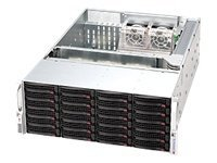 Supermicro 4U Chassis, 24xSAS SATA HS Bays, CSE-846E1-R1200B, 10330783, Cases - Systems/Servers