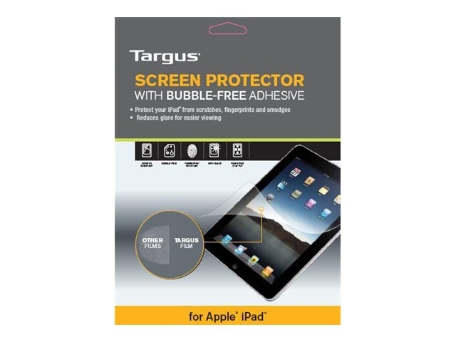 Targus Bubble-Free Adhesive Clear Screen Protector for iPad 2, iPad 3, AWV1245US
