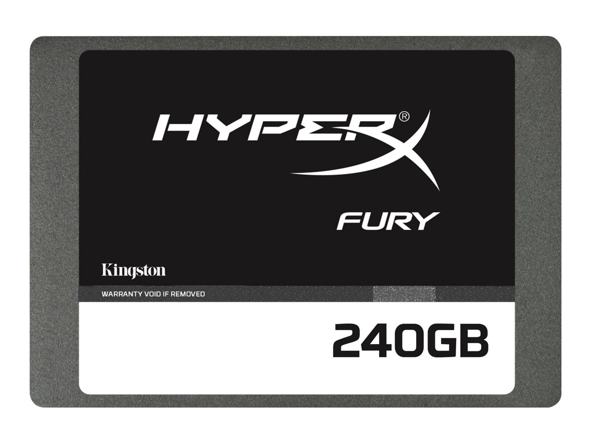 Kingston 240GB HyperX FURY SATA 6Gb s 2.5 7mm Internal Solid State Drive