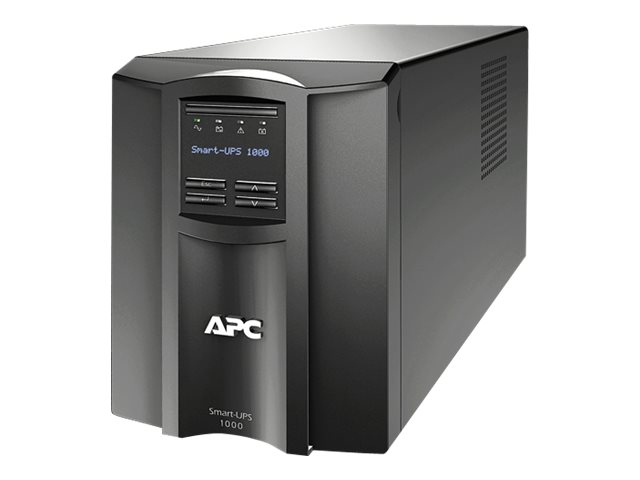 APC Smart-UPS 1000VA 670W 100V Line Interactive LCD Tower UPS (8) Outlets USB, Japan