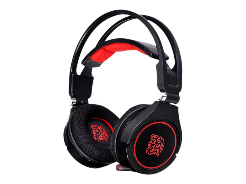 Thermaltake eSPORTS Cronos AD Gaming Headset, HT-CRAANECBK14, 30781485, Headsets (w/ microphone)