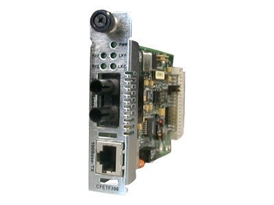 Open Box Transition 100BaseTX RJ45 to 100BaseFX Media Converter MMF SC, CFETF1013-205, 7499772, Network Transceivers