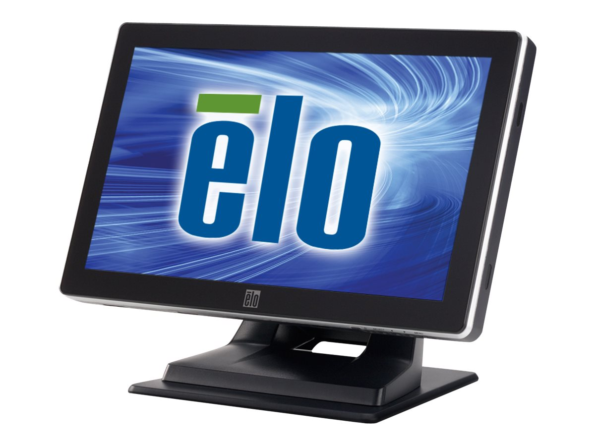 ELO Touch Solutions 15.6 LCD iTouch Plus Monitor, Black, E287348, 17612425, Monitors - LCD