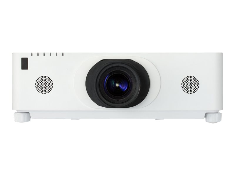 Hitachi CP-WX8650W WXGA LCD Projector, 6500 Lumens, White with ML-713 Lens
