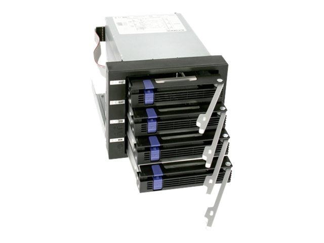Icy Dock 4 in 3 SATA 6Gbps HotSwap HDD, MB154SP-B, 14864221, Drive Mounting Hardware