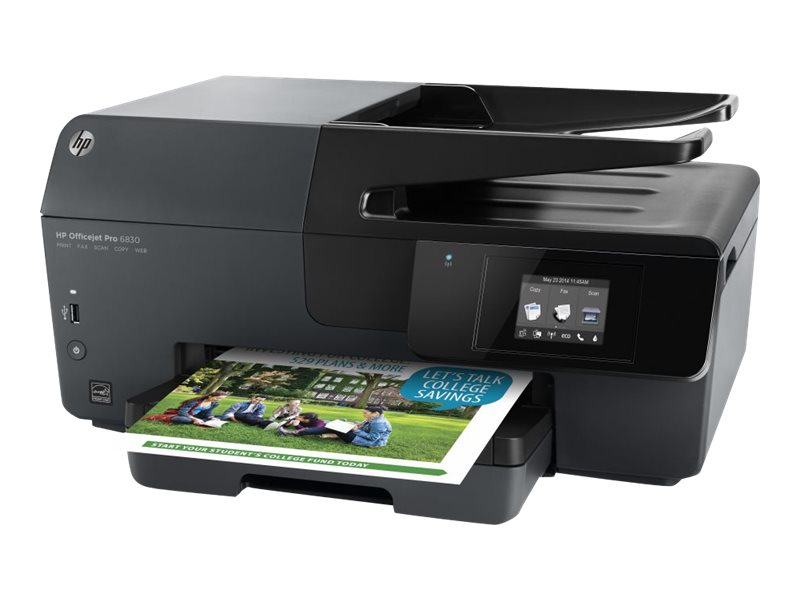 HP Officejet Pro 6830 e-All-In-One Printer, E3E02A#B1H, 17610761, MultiFunction - Ink-Jet