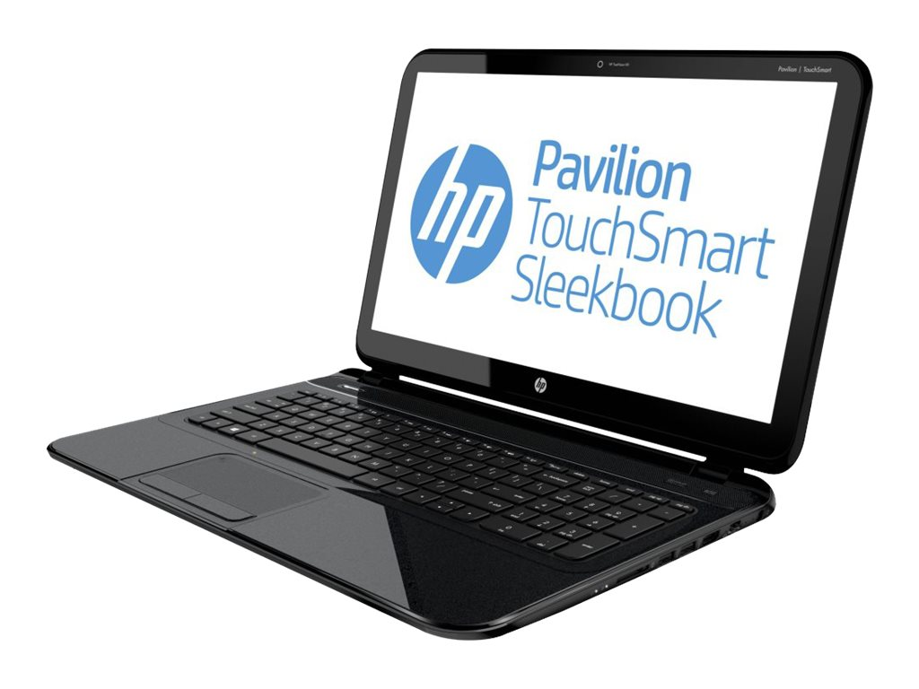 HP Pavilion TouchSmart 15-B156nr Sleekbook : 1.9GHz A4-Series 15.6in display