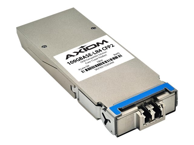 Axiom 100GBASE-LR4 CFP2 Transceiver for Brocade, CFP2100GLR4-AX, 30906823, Network Transceivers