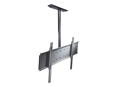 Peerless SolidPoint Flat Panel Straight Column Ceiling Mount, PLCM-UNL-CP, 6718232, Stands & Mounts - AV