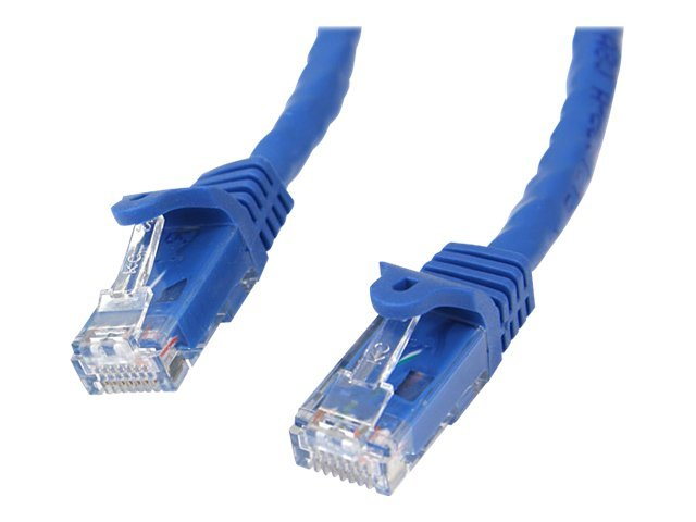 StarTech.com Cat6 Snagless Patch Cable, Blue, 50ft, N6PATCH50BL, 7551622, Cables