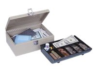 MMF POS Steelmaster Cash Box w  Locking Latch