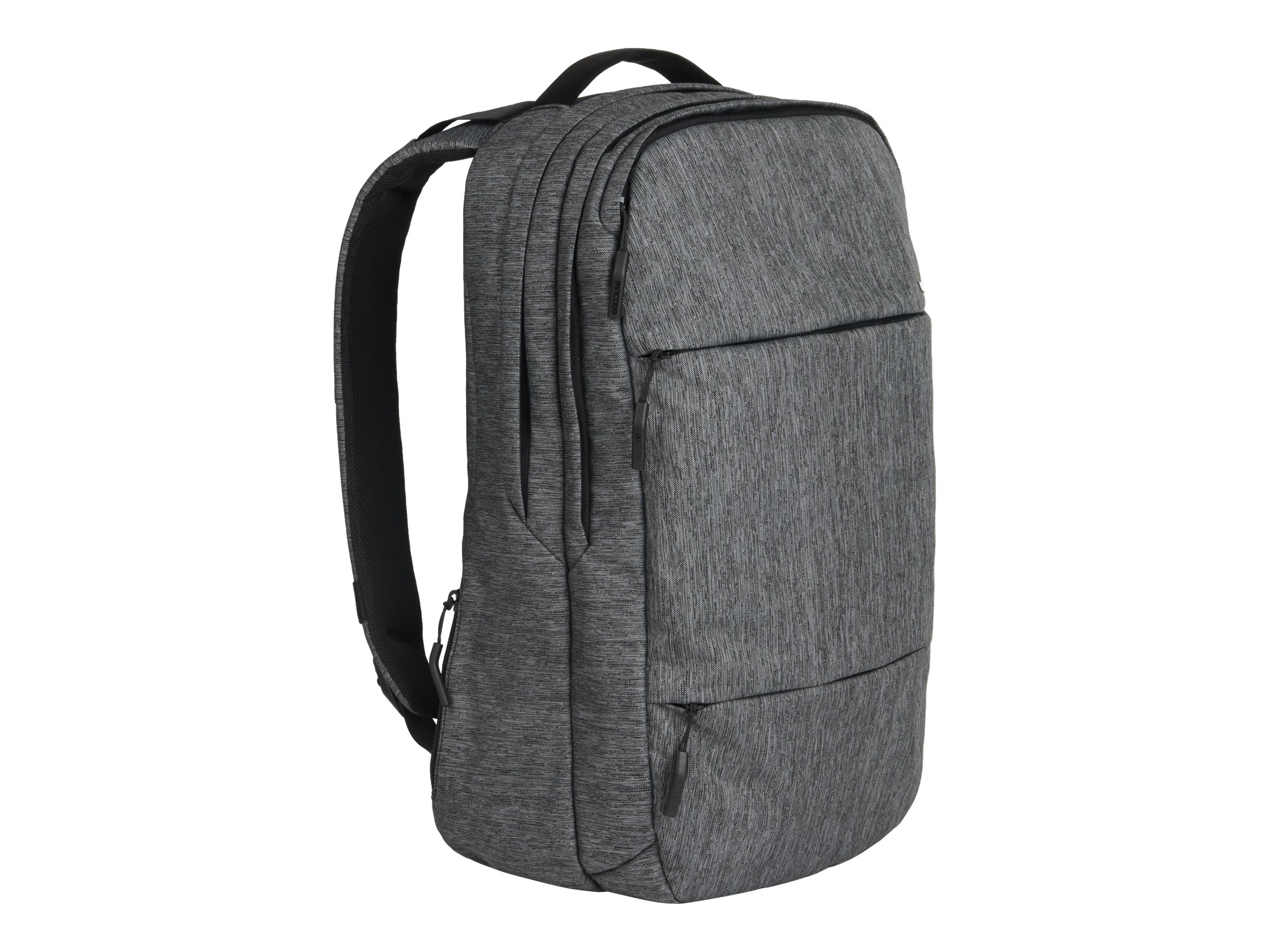 Incipio Incase City Backpack for 17 MacBook Pro, Heather Black Gunmetal Gray