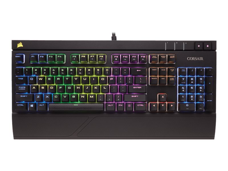 Corsair Strafe RGB Keyboard Cherry MX Red, CH-9000227-NA