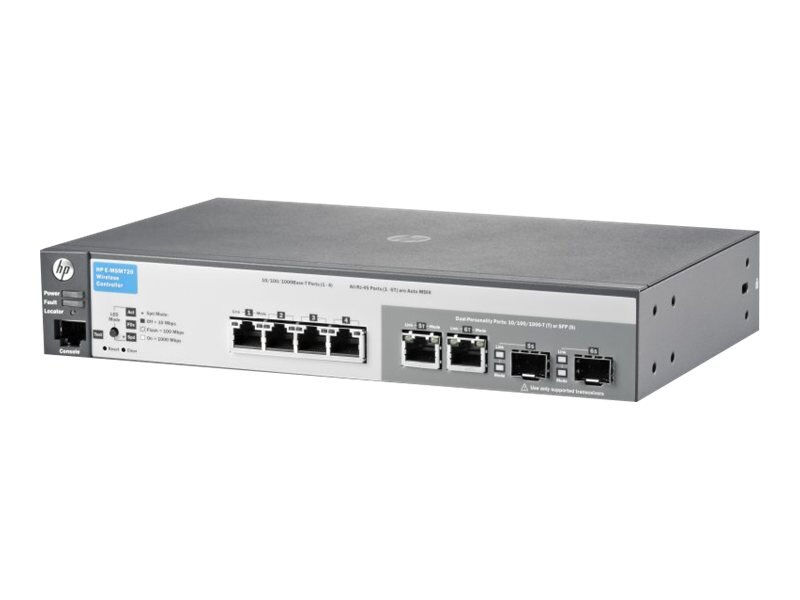 HPE MSM720 Access Controller (WW), J9693A#ABA, 13493393, Wireless Access Points & Bridges