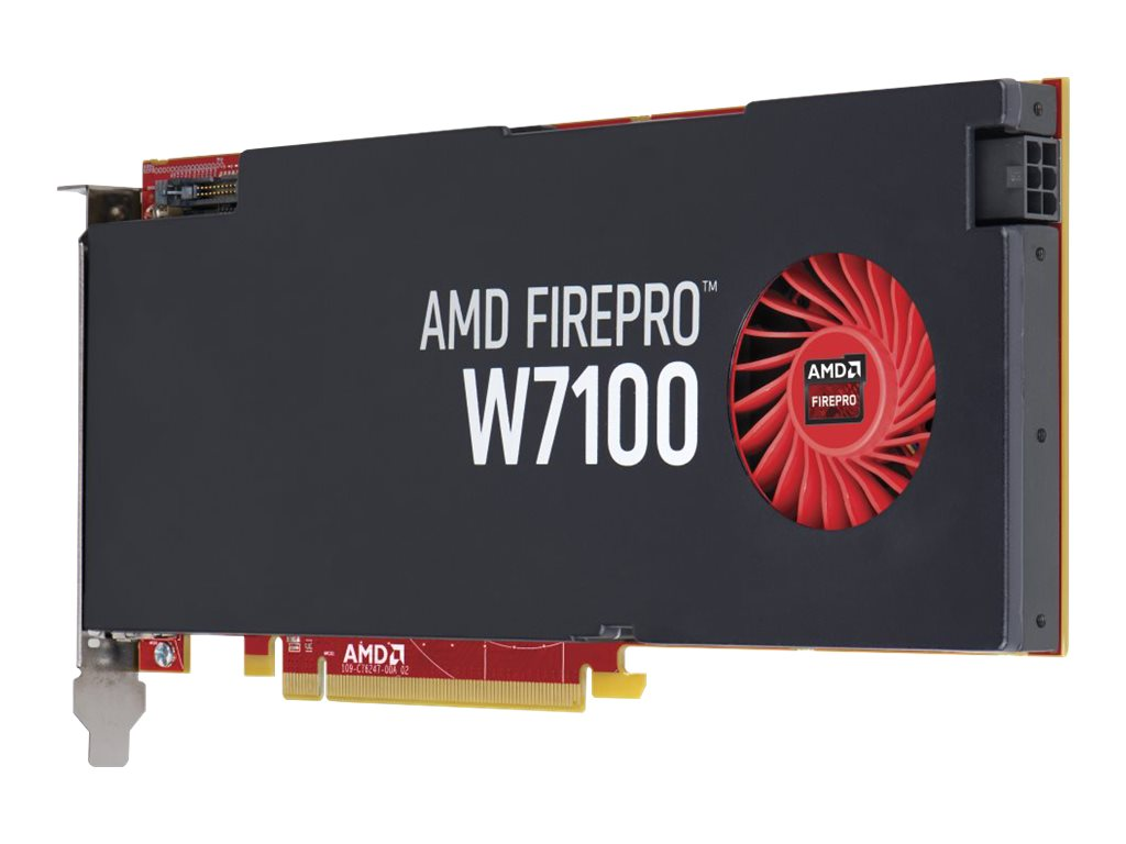 HP SmartBuy AMD FirePro W7100 Graphics Card, 8GB, J3G93AT, 18465666, Graphics/Video Accelerators