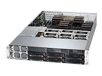 Supermicro A+ Server 2042G 2U RM (4x) Opteron 6000 Family Max.1TB DDR3 6x3.5 HS Bays 4xPCIe 4xGbE 2x1400W, AS-2042G-72RF4, 15752352, Cases - Systems/Servers