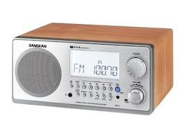 Sangean Analog Cabinet Table-Top Radio, WR-2WL, 8491334, Portable Stereos