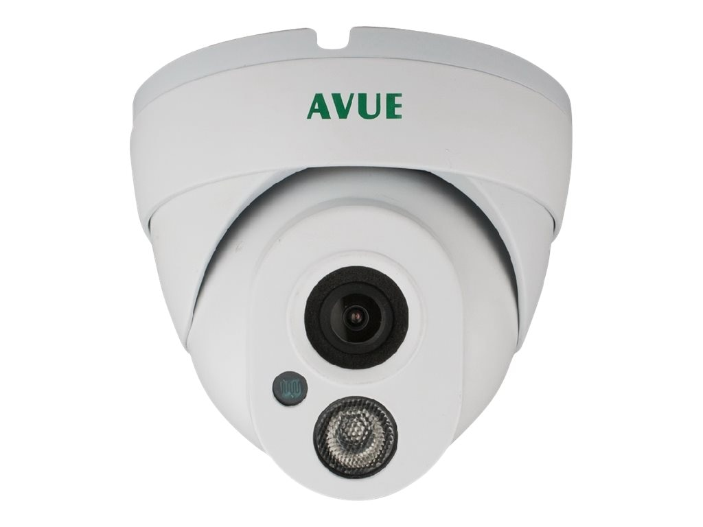 Avue 1.3MP 1000TVL Day Night Dome CCTV Camera 3.6mm Lens, AV665PIRW