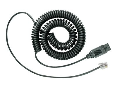 VXI QD1026G Coiled Cord, 201400, 14759561, Phone Accessories