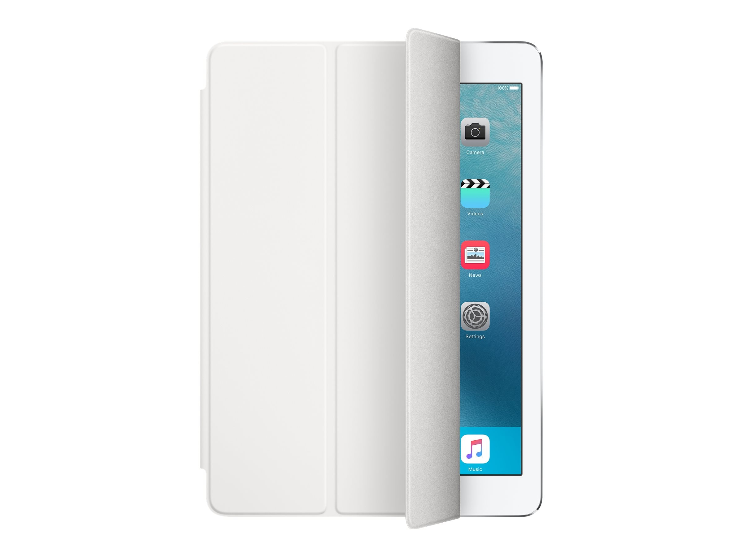 Apple Smart Cover for iPad Pro 9.7, White, MM2A2AM/A, 31812036, Carrying Cases - Tablets & eReaders