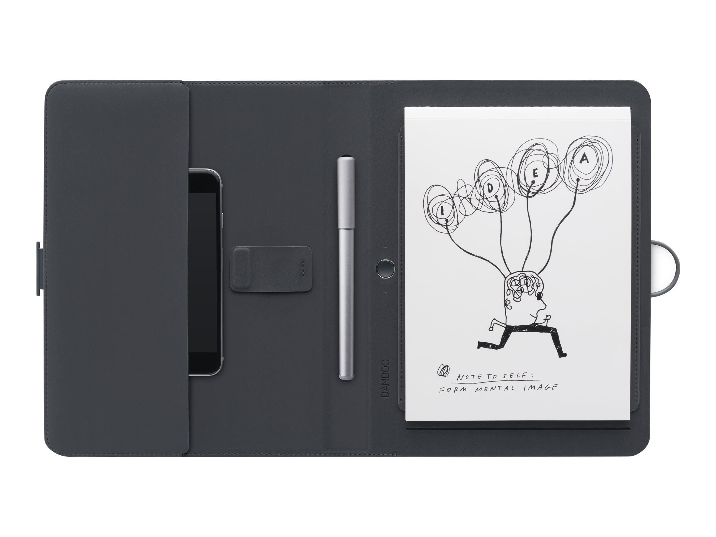 Wacom Bamboo Spark with Gadget Pocket, CDS600G, 30678779, Carrying Cases - Phones/PDAs