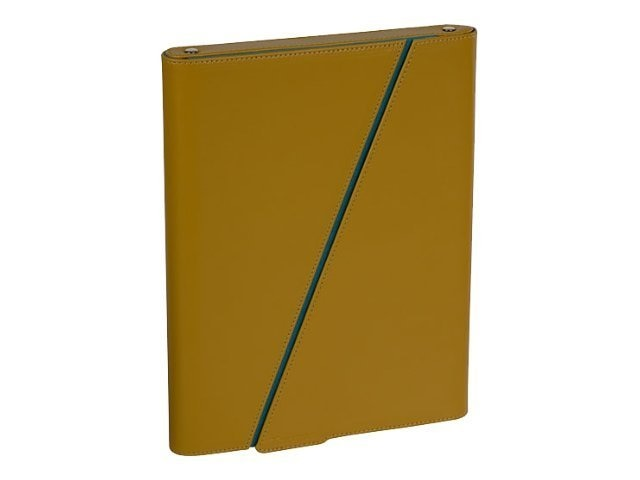 Targus Z-Case for iPad, Mustard, THZ02102US, 11746529, Carrying Cases - Tablets & eReaders