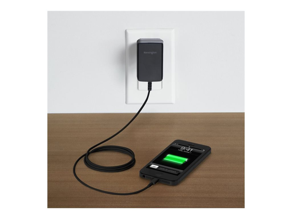 Kensington AbsolutePower 2.4 Fast Charge, K39768AM, 15977447, Battery Chargers